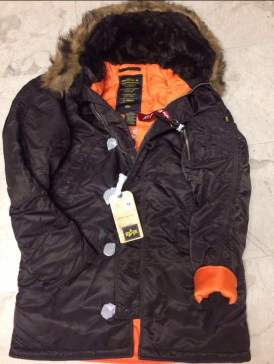 fc8aa142ac8b5 Куртки зимние Alpha Industries N-3B – купить в Москве, цена 11 800 ...
