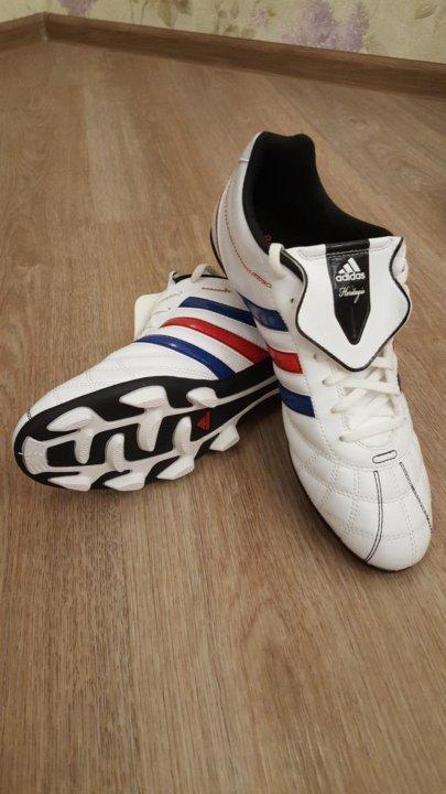 9ad936e0822f 👍НОВЫЕ👍 Футбольные бутсы adidas heritagio белые – купить в Санкт ...