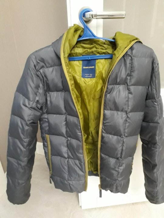 1a02d299423 Троицк. Куртка- пуховик zara young мужская на стройного!. Фото 4. Троицк.