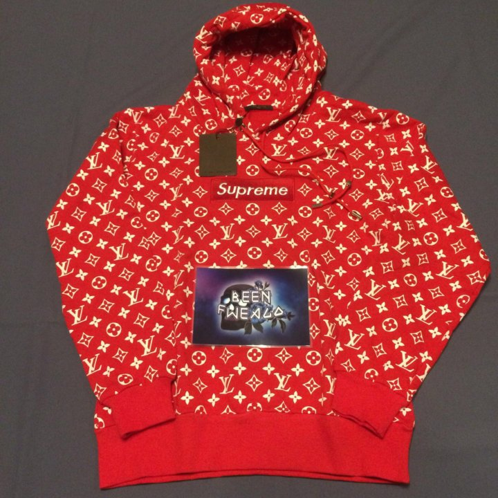 Худи Supreme x Louis Vuitton – купить в Москве, цена 4 990 руб ... 8b4cc287d8c