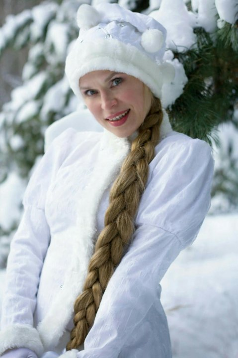Коса снегурочки картинки
