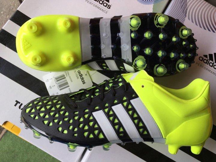 d940a6d5 Adidas ACE 15.1 FG/AG B32857 PRO / Бутсы – купить в Брянске, цена 4 ...