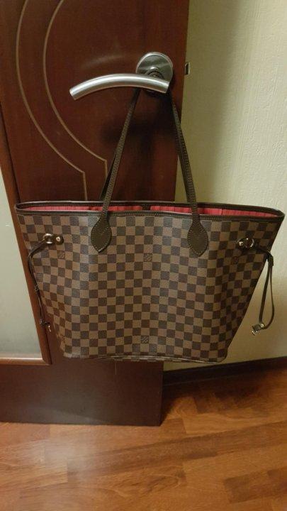 fe4268d87b36 Сумка Louis Vuitton Neverfull MM новая – купить в Москве, цена 5 300 ...