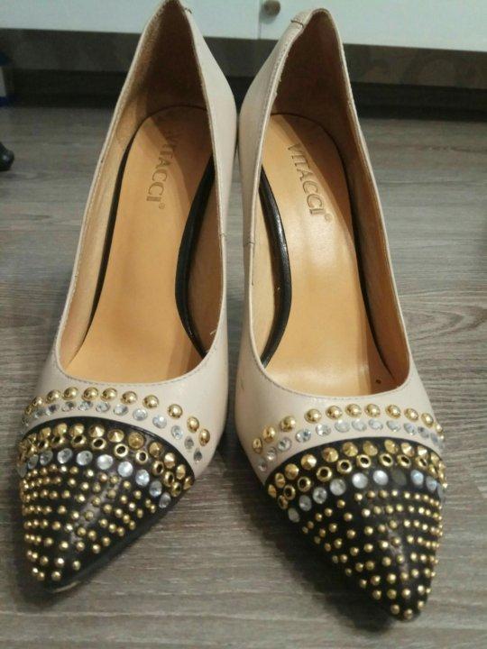 Туфли кожаные vitacci – купить в Уфе, цена 990 руб., дата размещения ... c685e6eb75b