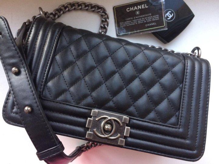 d44f192dceb4 Сумка Chanel Boy копия люкс – купить в Москве, цена 3 700 руб ...