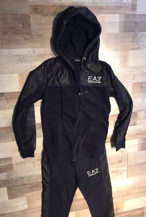 c1c46e49be32 Спортивный костюм Emporio Armani новый.EA7 черный – купить в Санкт ...