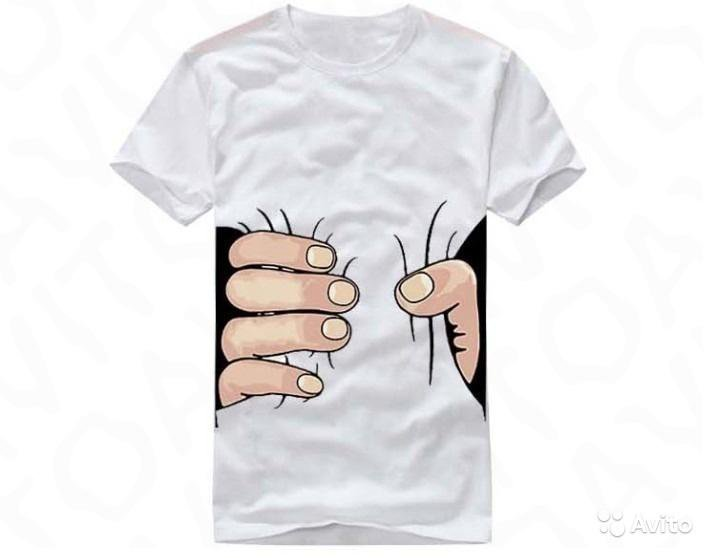 футболку картинка рук помощи легких линий