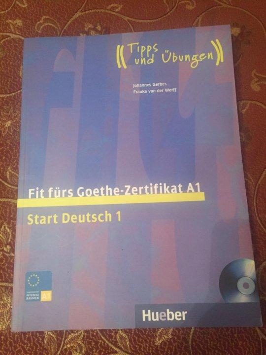Fit Fürs Goethe Zertifikat A1 купить в москве цена 650 руб
