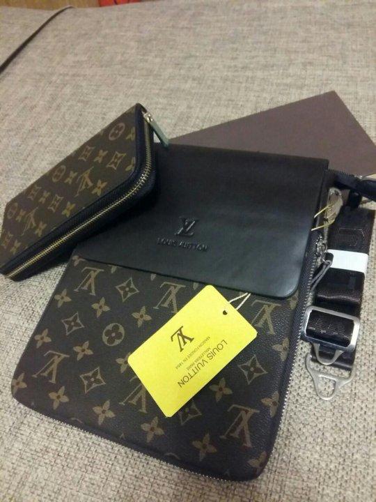 43eec414d52d Мужская сумка планшет новая Louis Vuitton – купить в Красноярске ...