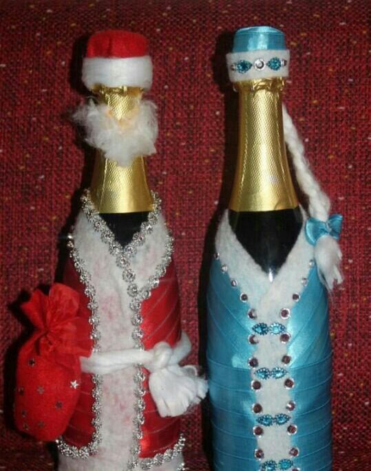истины один украшение новогодних бутылок шампанского фото фраз шрифтов ним