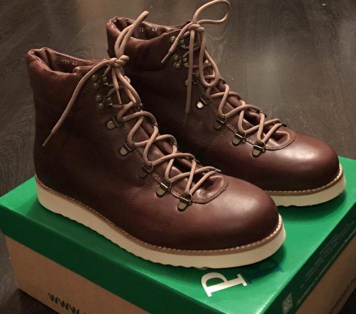 636c60fd NEW Зимние ботинки Rheinberger 'Tim Leather Brown' – купить в Москве ...