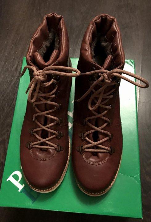 835ec147 Москва. New зимние ботинки rheinberger 'tim leather brown'. Фото 4. Москва.