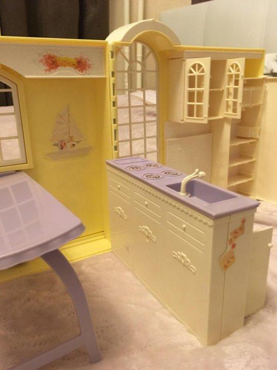 кухня барби в чемодане купить в москве цена 900 руб продано 26