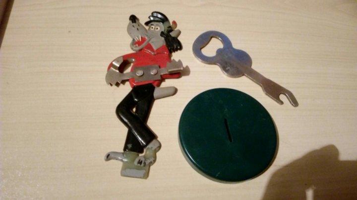 Открывалка сувенир ну погоди волк с гитарой – купить в ...