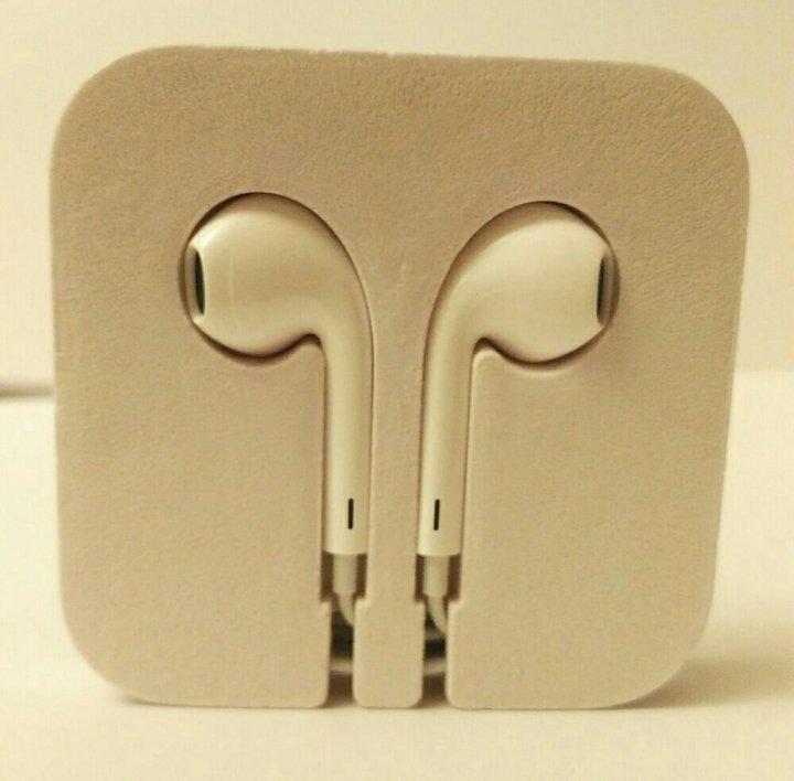 Москва. Наушники apple earpods 3.5 мм - 100% оригинальные. Фото 3. Москва. 649d6b56721d8