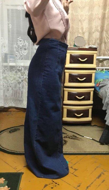 847a58ad9a9 Юбка джинсовая длинная. Фото 1. Махачкала. ...
