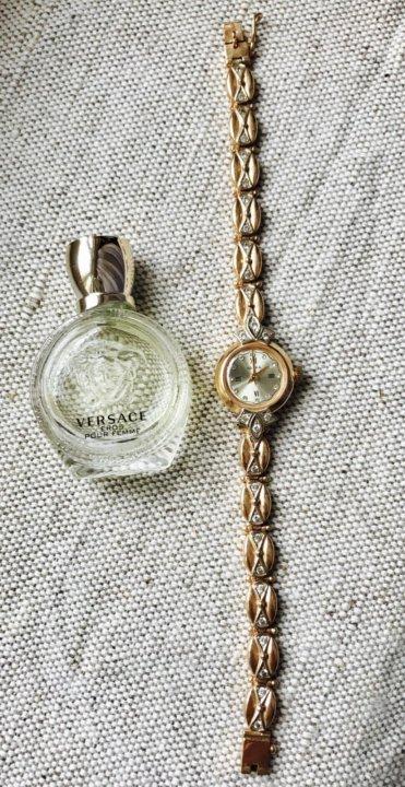 d051a9a4 Золотые женские часы Чайка с золотым браслетом – купить в ...