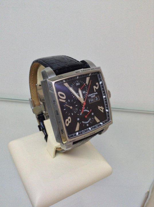 Швейцарские часы Certina DS Podium Square! Т1727 – купить в ... 7a84fd92a6e