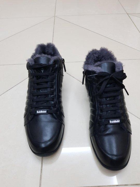daaacf9d0 Мужские зимние кожаные ботинки Baldinini, оригинал – купить в ...
