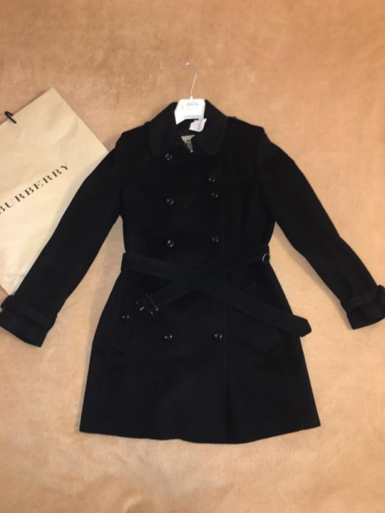 485e3eec3184 Пальто Burberry (оригинал) – купить в Москве, цена 25 000 руб ...