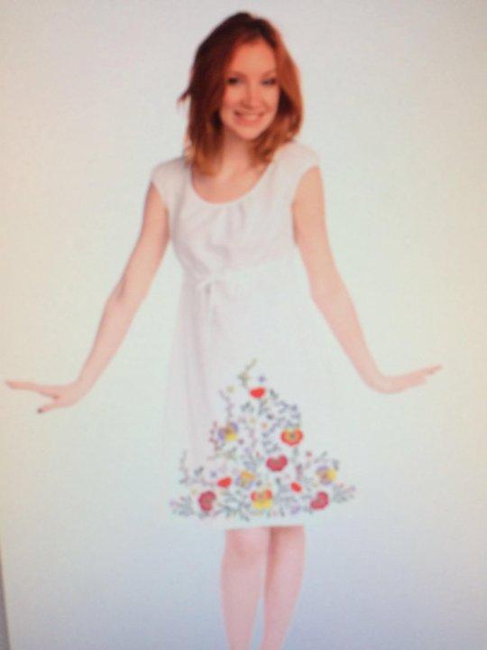 877c597b241015f Новое льняное платье. Закупка Этноарт. – купить в Уфе, цена 1 300 ...