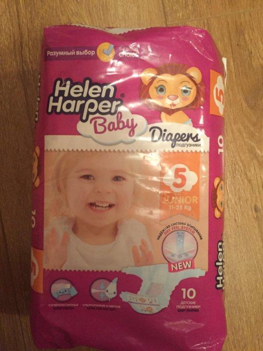 641b8a4ea0cb Helen Harper подгузники Baby 5 (11-25 кг) 10 шт. – купить в Москве ...