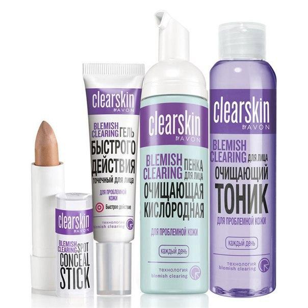 Clearskin для проблемной кожи купить косметика для беременных