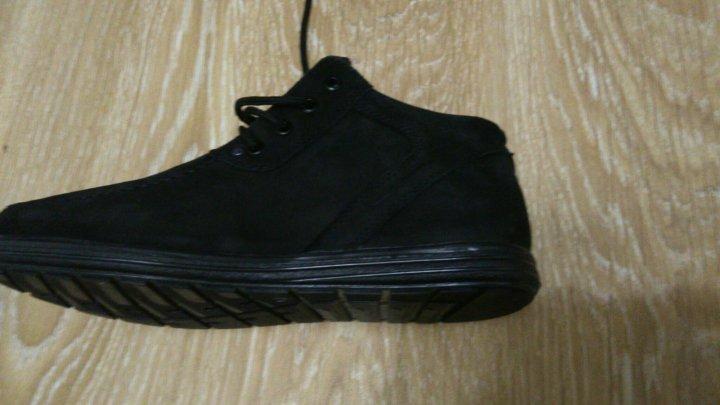 Новые зимние мужские ботинки нат.замша, нат.мех – купить в Санкт ... ca46b80e07d