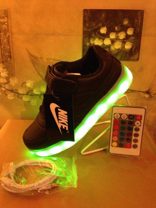 5912fbfd Светящиеся кроссовки с LED подсветкой - 31-36 – купить в Москве ...