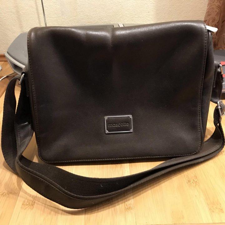 a7422824d039 Кожаная сумка Mascotte – купить в Москве, цена 2 500 руб., продано ...