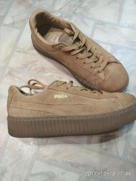 Кроссовки PUMA Rihanna – купить в Балашихе, цена 1 000 руб., дата ... 137d9e69124