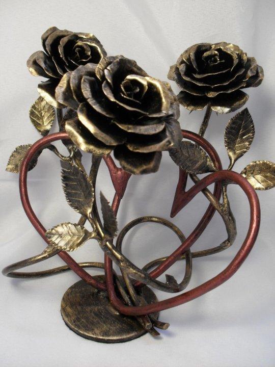 кованые розы фото смотреть компания