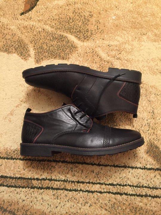 0aa738436 Зимние ботинки Rieker 41-42 мужские – купить в Москве, цена 4 000 ...
