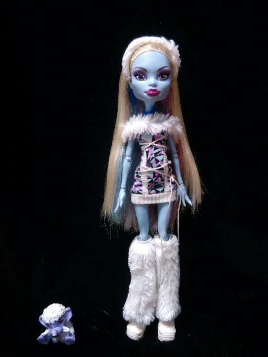 кукла монстер хай эбби подбирает наряд