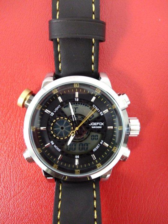 Joefox часы купить купить 24 часа красная