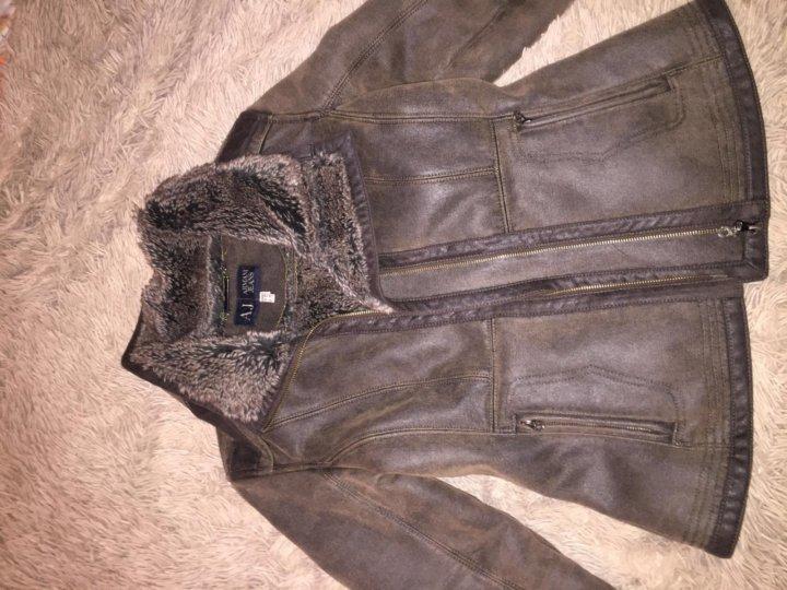 Дубленка Armani Jeans ( оригинал) – купить в Москве, цена 9 000 руб ... 2014f7f34e1