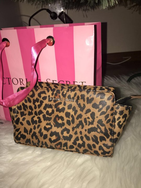 a7b59706a5987 Сумка клатч косметичка Victoria's Secret леопард – купить в Санкт ...
