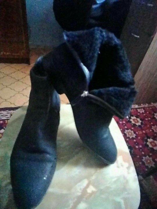 26cd31301f42 Ботинки зима.Нубук Б/у,Италия оригинал. – купить в Красноярске, цена ...