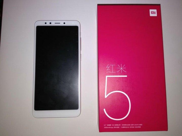 новый Xiaomi Redmi 5 Gold 216gb новинка 2018 рус купить в