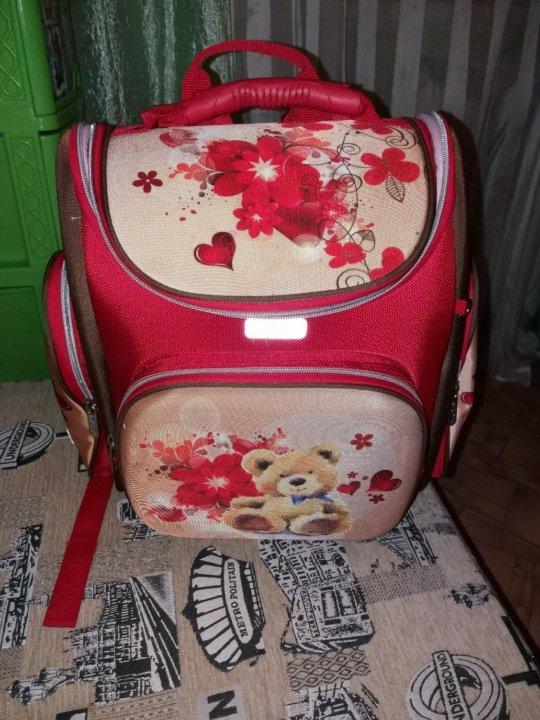 8c054d6283c4 Школьный ранец для девочки в отличном состоянии!. Фото 1. Новосибирск. ...