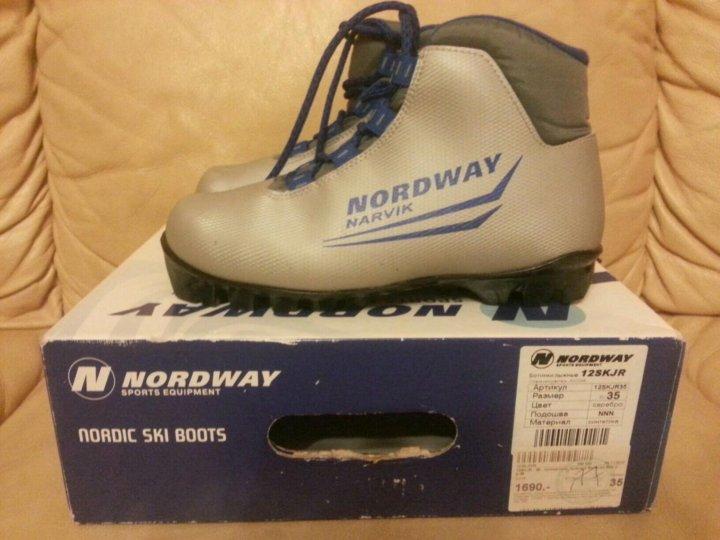429be883511e Лыжные ботинки детские NORDWAY , 35размер – купить в Москве, цена ...