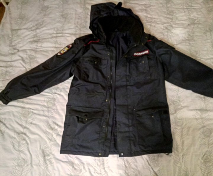 913706096994 Демисезонная куртка (полиция) – купить в Хабаровске, цена 1 500 руб ...