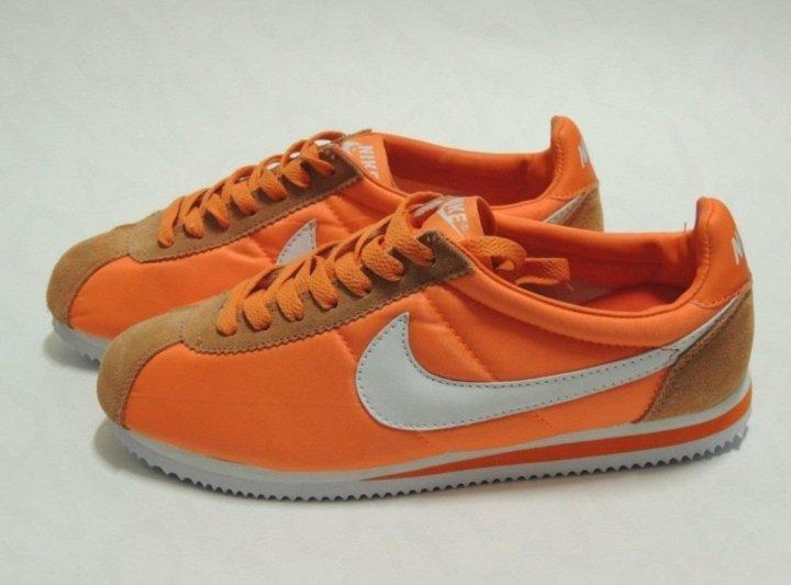 9b99017d Nike Cortez Nylon оранжевые – купить в Москве, цена 3 000 руб ...