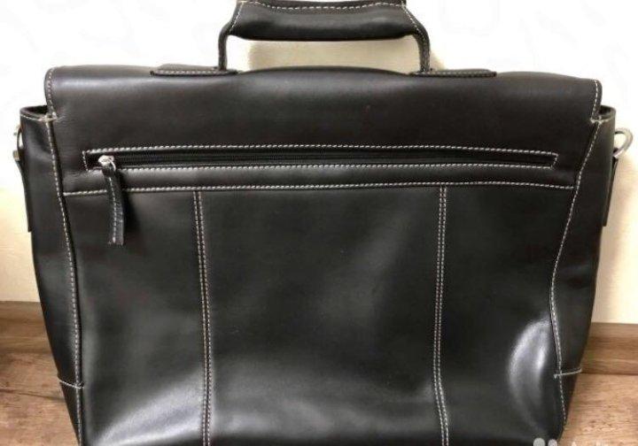 98bca462f6d2 Новый мужской кожаный портфель Enzo rossi – купить в Москве, цена 4 ...