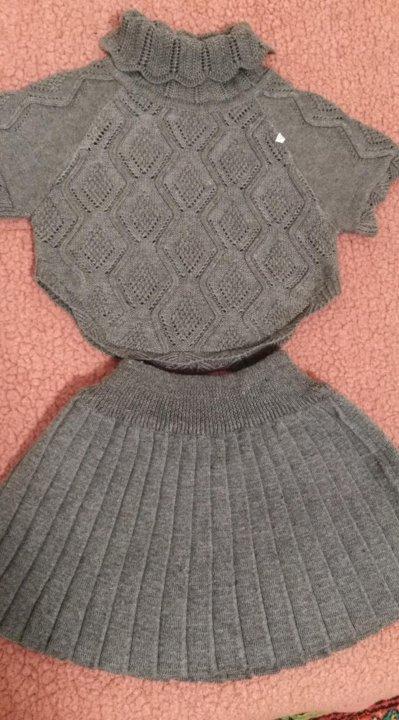 новый вязаный костюм на девочку 3 4 года купить в новочеркасске