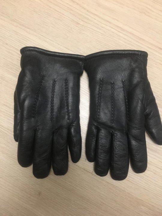 94fe46c6321a Кожаные мужские перчатки – купить в Москве, цена 800 руб., дата ...