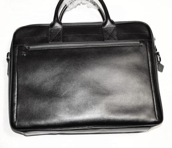 3e92733be45c Мужская кожаная сумка Montblanc new business – купить в Москве, цена ...