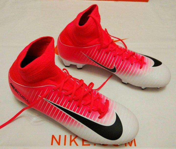 feff6fcd Новые детские футбольные бутсы Nike 36 – купить в Жуковском, цена 3 ...