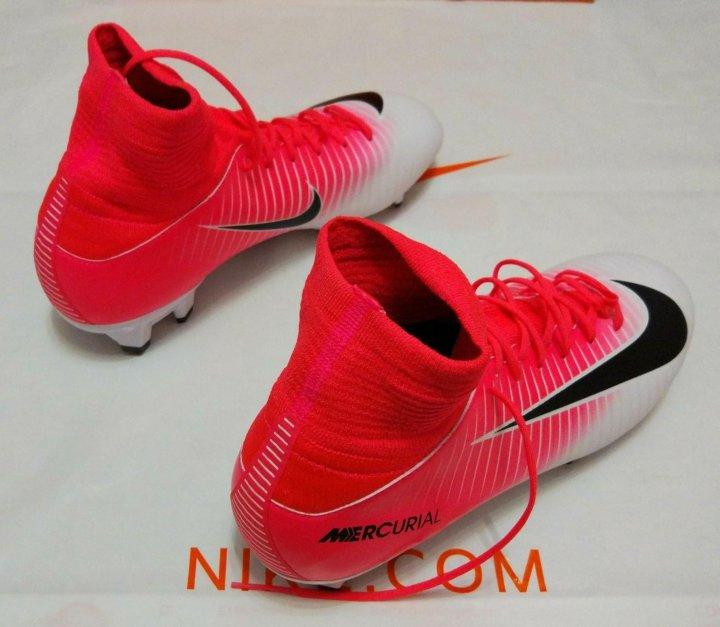 63ca4615 Новые детские футбольные бутсы Nike 36 – купить в Жуковском, цена 3 ...