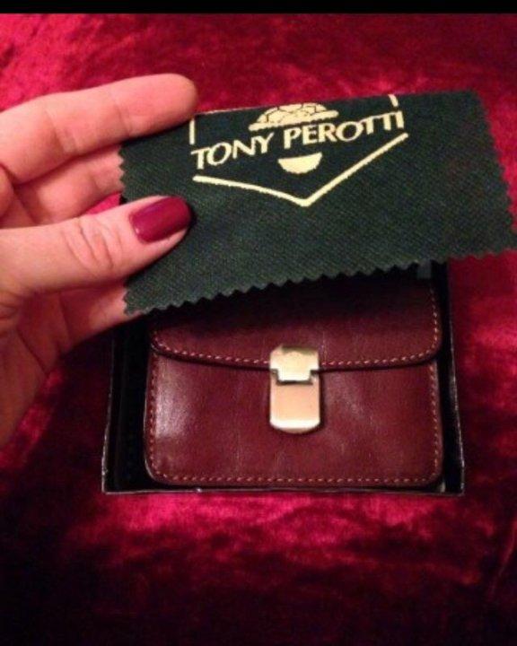 6bc30f26d53d Визитница - кошелек мужская Tony Perotti Италия – купить в Москве ...